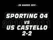 Sporting 04-Castello US (2-2)