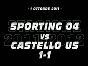 Sporting 04-Castello US (1-1)